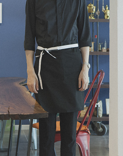 #AA1554 Le Coloration Apron Black