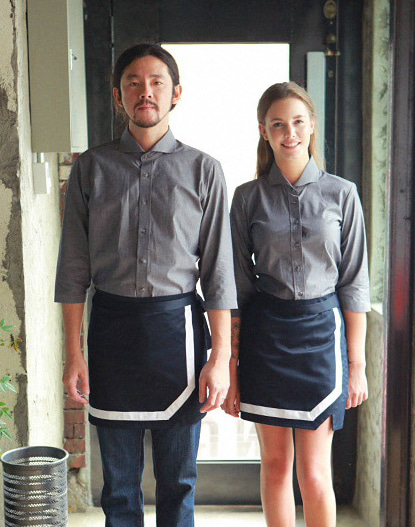 #AA1568 Tom's Apron Navy
