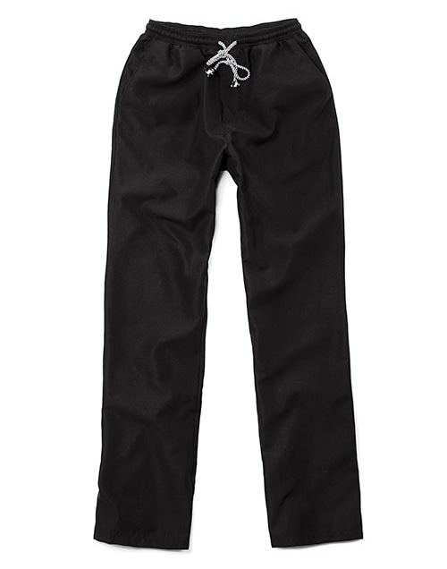 the glossy chef pants black #AP1666