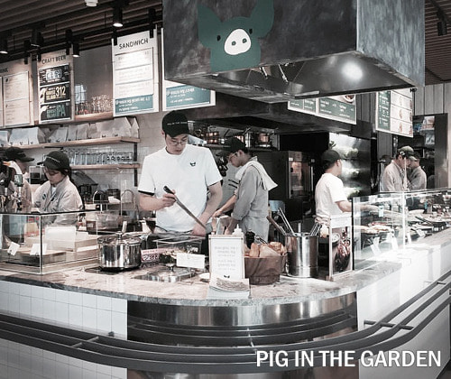 Pig in the garden 피그인더가든